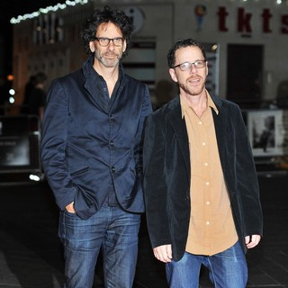 Joel Coen, Ethan Coen in 57th BFI London Film Festival - Inside Llewyn Davis Premiere - Arrivals