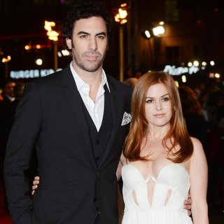 Sacha Baron Cohen in Les Miserables World Premiere - Arrivals - cohen-fisher-uk-premiere-les-miserables-01