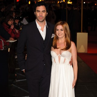Sacha Baron Cohen, Isla Fisher in Les Miserables World Premiere - Arrivals