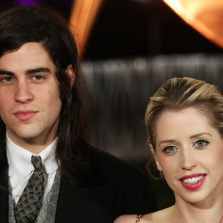 Thomas Cohen, Peaches Geldof in The World Premiere of The Hunger Games: Catching Fire - Arrivals