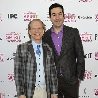 Bruce Cohen, Jonathan Gordon in 2013 Film Independent Spirit Awards - Arrivals