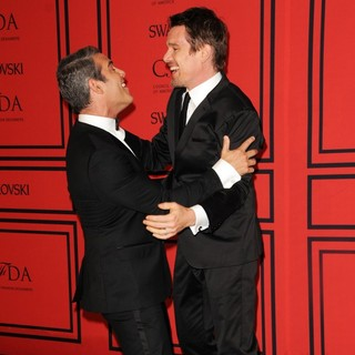Andy Cohen, Ethan Hawke in 2013 CFDA Awards - Arrivals
