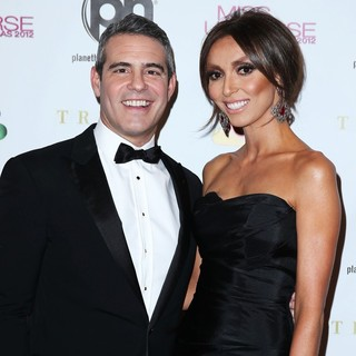 Andy Cohen, Giuliana Rancic in 2012 Miss Universe Pageant - Arrivals
