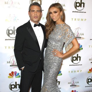 Andy Cohen, Giuliana Rancic in 2012 Miss USA Pageant - Red Carpet