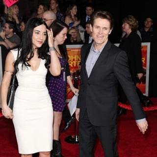 Giada Colagrande, Willem Dafoe in Premiere of Walt Disney Pictures' John Carter