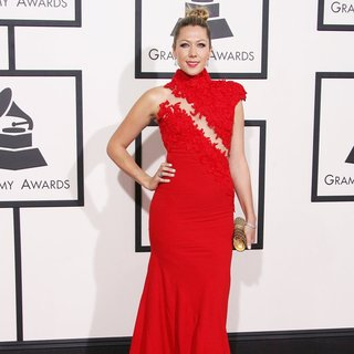 Colbie Caillat in The 56th Annual GRAMMY Awards - Arrivals