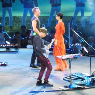 Coldplay, Rihanna in Closing Ceremony for The Paralympics 2012