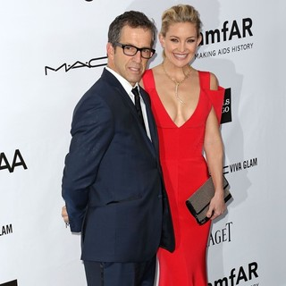 Kenneth Cole, Kate Hudson in amfAR 3rd Annual Inspiration Gala