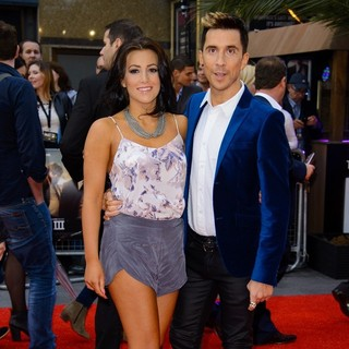 Lindsey Cole, Russell Kane in The Hangover Part III - European Film Premiere