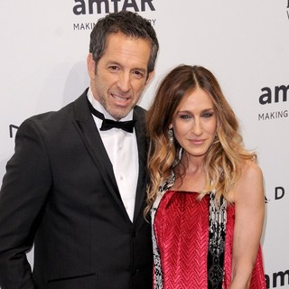 Kenneth Cole, Sarah Jessica Parker in The amfAR Gala 2013
