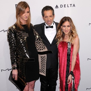 Amanda Cole, Kenneth Cole, Sarah Jessica Parker in The amfAR Gala 2013