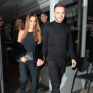 Cheryl Cole - Cheryl Cole and Liam Payne Leaving Salmontini Restaurant