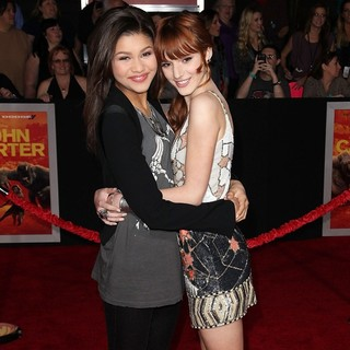 Zendaya Coleman, Bella Thorne in Premiere of Walt Disney Pictures' John Carter