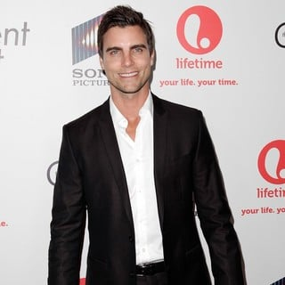 Colin Egglesfield in Lifetime And Sony Pictures Television Red Carpet Launch Party for The Client List