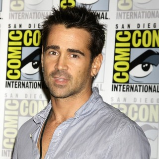 Colin Farrell in 2011 Comic Con Convention - Day 2 - The Sony Press Conference