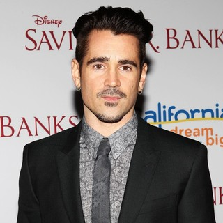 Colin Farrell in Saving Mr. Banks Los Angeles Premiere