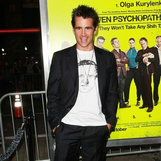 Colin Farrell in Seven Psychopaths Los Angeles Premiere - Arrivals