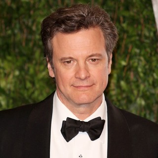 Colin Firth in 2012 Vanity Fair Oscar Party - Arrivals