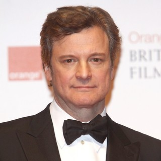 Colin Firth in Orange British Academy Film Awards 2012 - Press Room