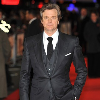 Colin Firth in The World Premiere of Gambit - colin-firth-uk-premiere-gambit-05