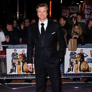 Colin Firth in The World Premiere of Gambit - colin-firth-uk-premiere-gambit-06