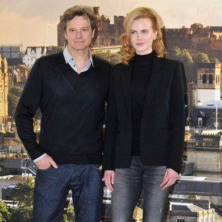 Colin Firth, Nicole Kidman in The Railway Man Photocall