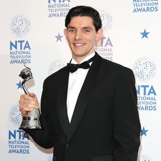 Colin Morgan in National Television Awards 2013 - Press Room