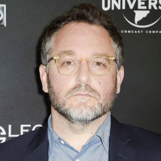 Colin Trevorrow in Jurassic World Photocall