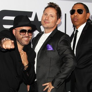 Color Me Badd in The 2014 BET Awards - Press Room