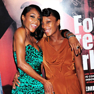 Yaya DaCosta in NYC Movie Premiere of 'For Colored Girls' - Arrivals