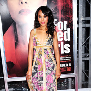 Kerry Washington in NYC Movie Premiere of 'For Colored Girls' - Arrivals