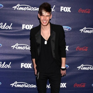 Colton Dixon in The American Idol Season 11 Top 13 Party