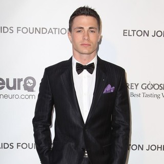 Colton Haynes in 21st Annual Elton John AIDS Foundation's Oscar Viewing Party