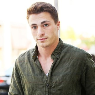 Colton Haynes Goes for A Store Fitting on Rodeo Drive