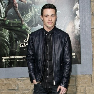 Colton Haynes in Premiere of Jack the Giant Slayer
