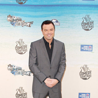 Seth MacFarlane in Comedy Central Roast Of David Hasselhoff - Arrivals