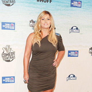 Nicole Eggert in Comedy Central Roast Of David Hasselhoff - Arrivals