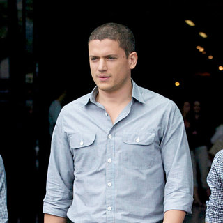 Wentworth Miller in Out and About at Comic-Con 2010 - Day 3