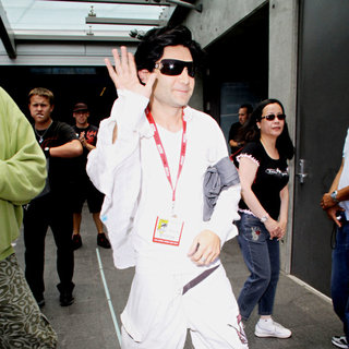 Corey Feldman in Out and About at Comic-Con 2010 - Day 3