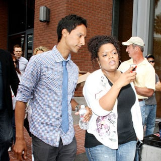 Danny Pudi, Yvette Nicole Brown in Out and About at Comic-Con 2010 - Day 4