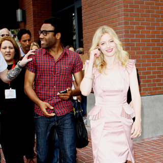 Donald Glover, Gillian Jacobs in Out and About at Comic-Con 2010 - Day 4