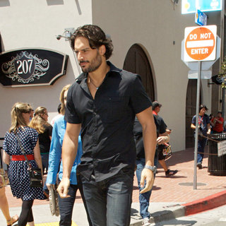Joe Manganiello in Out and About at Comic-Con 2010 - Day 3