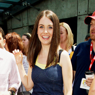 Alison Brie in Out and About at Comic-Con 2010 - Day 4