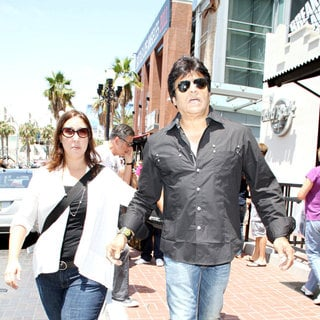 Erik Estrada in Out and About at Comic-Con 2010 - Day 3