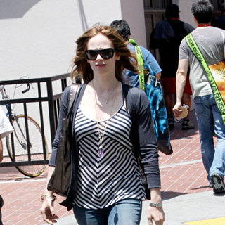 Danielle Panabaker in Out and About at Comic-Con 2010 - Day 4