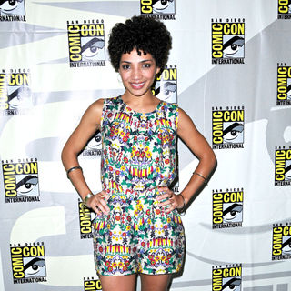 Jasika Nicole in Comic-Con 2010 - Day 3 - 'Fringe' Press Conference
