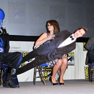 Will Ferrell, Tina Fey, Jonah Hill in Comic Con 2010 - Day 1 - 'Megamind' Press Conference