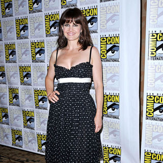 Carla Gugino in Comic-Con 2010 - Day 3 - 'Sucker Punch' Press Conference