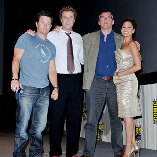 Mark Wahlberg, Will Ferrell, Adam McKay, Eva Mendes in Comic Con 2010 - Day 2 - 'The Other Guys' Press Conference