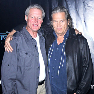 Bruce Boxleitner, Jeff Bridges in Comic Con 2010 - Day 2 - 'Tron Legacy' Party